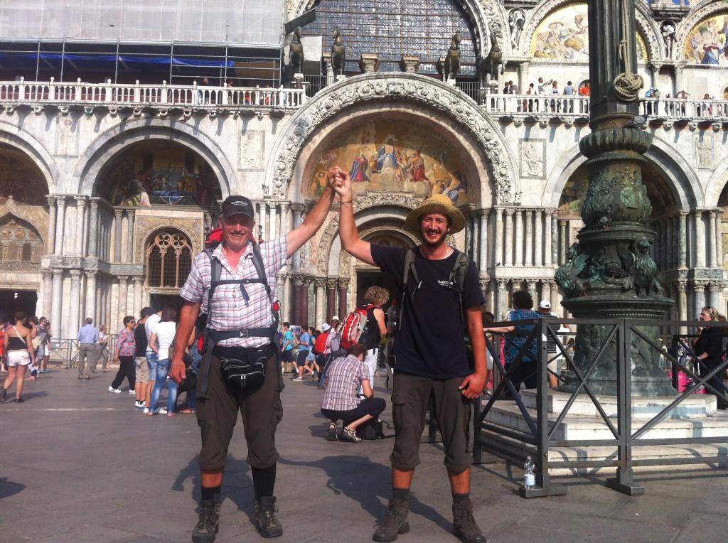 Ankunft Venedig